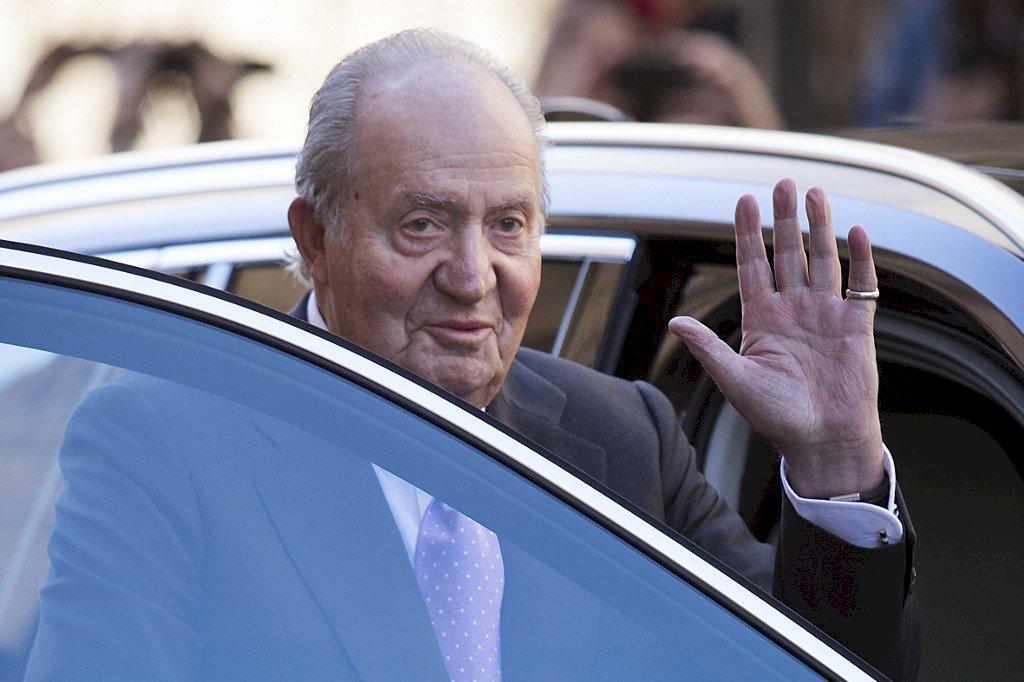 涉貪 西班牙前國王將流亡海外