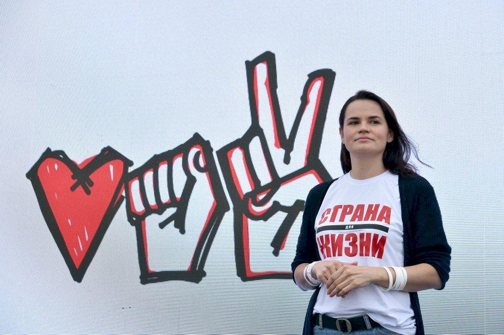 白俄主要反對派候選人在立陶宛 否認被迫離開