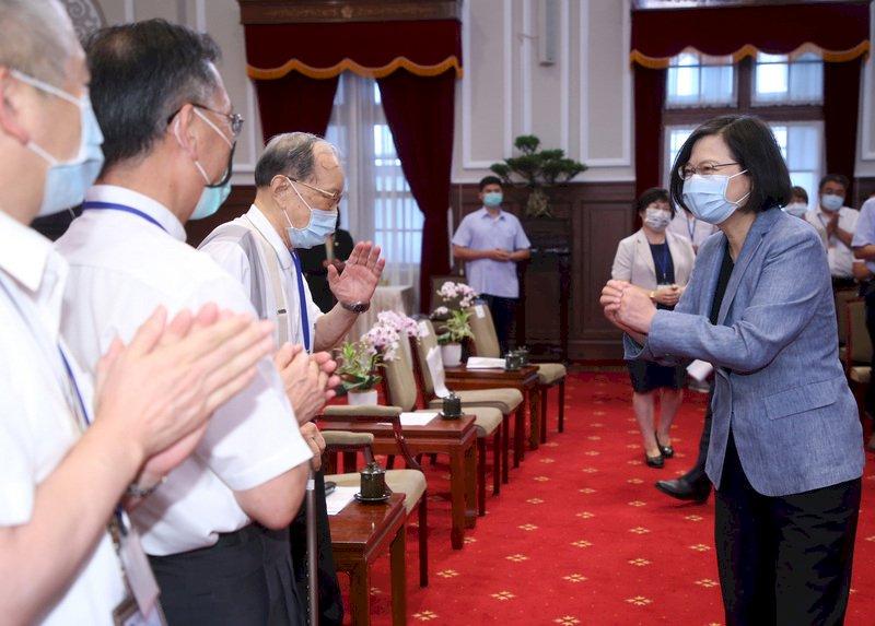 總統:國際環境變化 科技實力是台灣關鍵競爭力