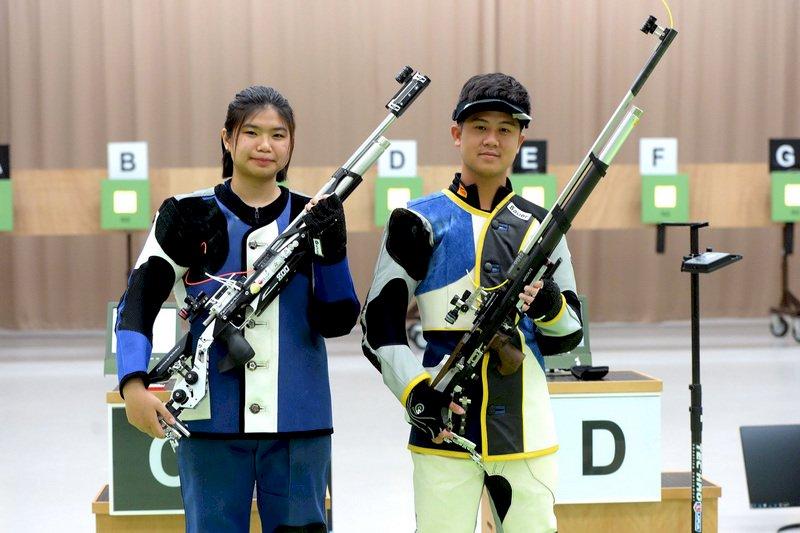 東京奧運射擊混合賽 林穎欣呂紹全無緣晉級