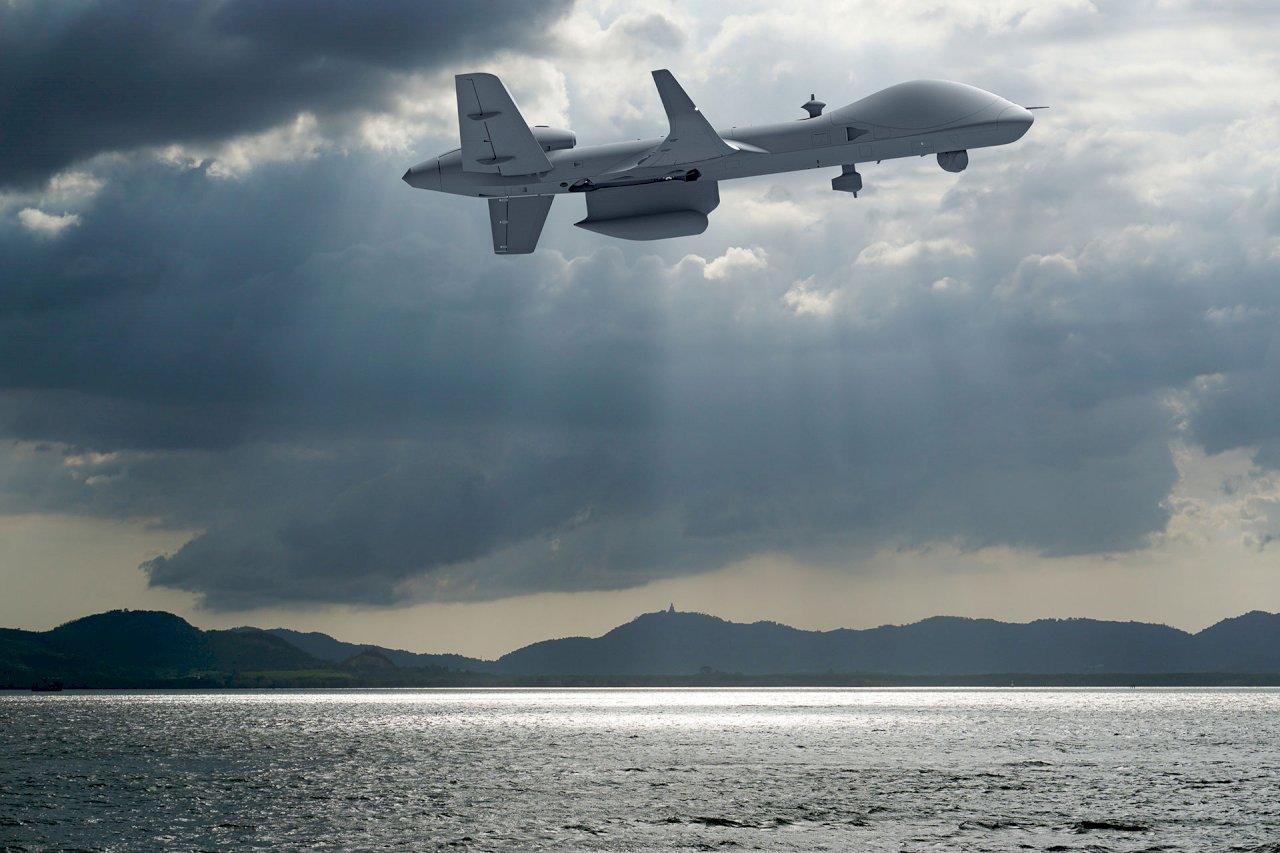 空軍:對美採購海上衛士無人機具備打擊能力