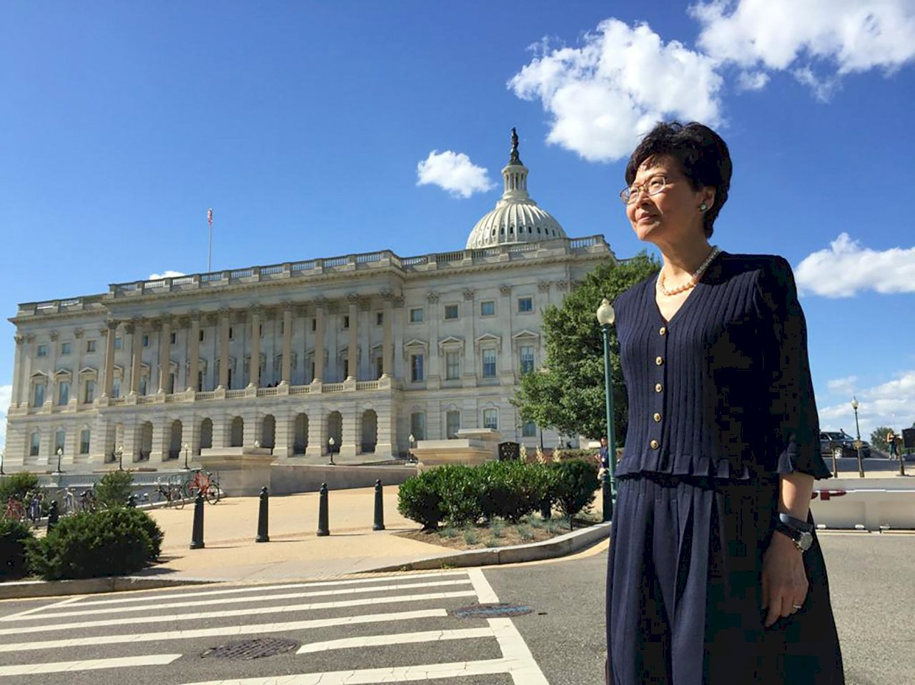 林鄭月娥:不嚮往美國 會主動註銷赴美簽證
