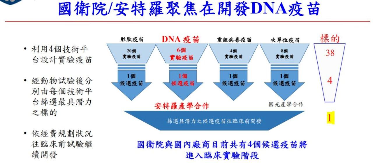 疫情可望有解方 國衛院DNA疫苗動物試驗成功