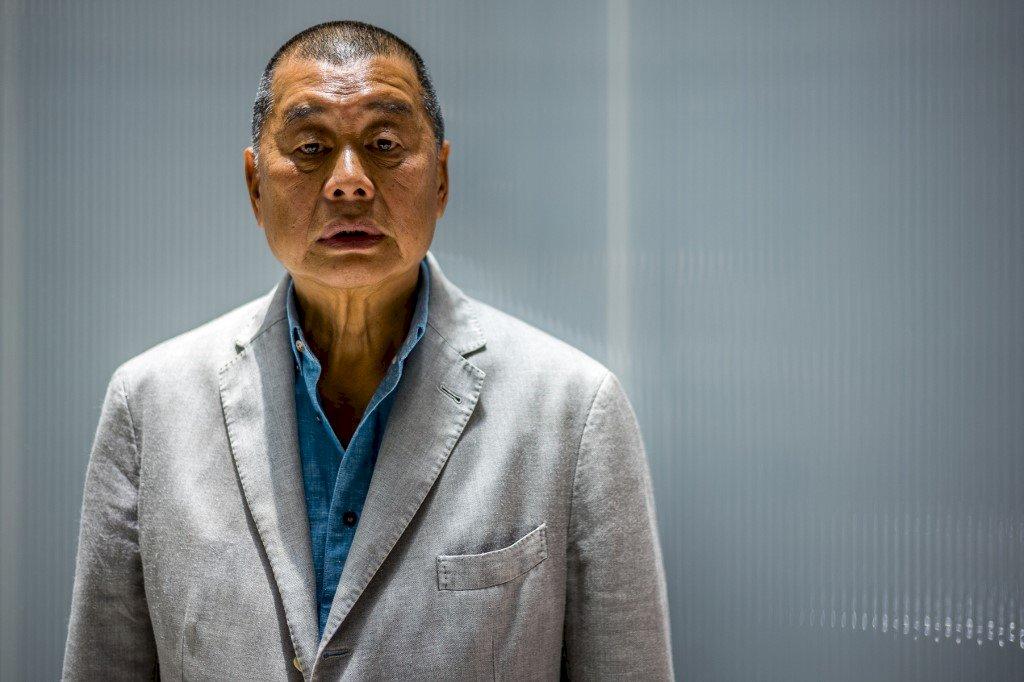 接受外媒採訪和會見國外官員 黎智英遭加控勾結境外勢力等罪名