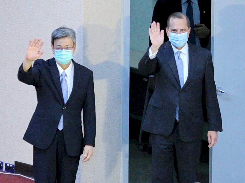 全球公衛領袖地位 阿札爾:感謝台灣樹立正向典範