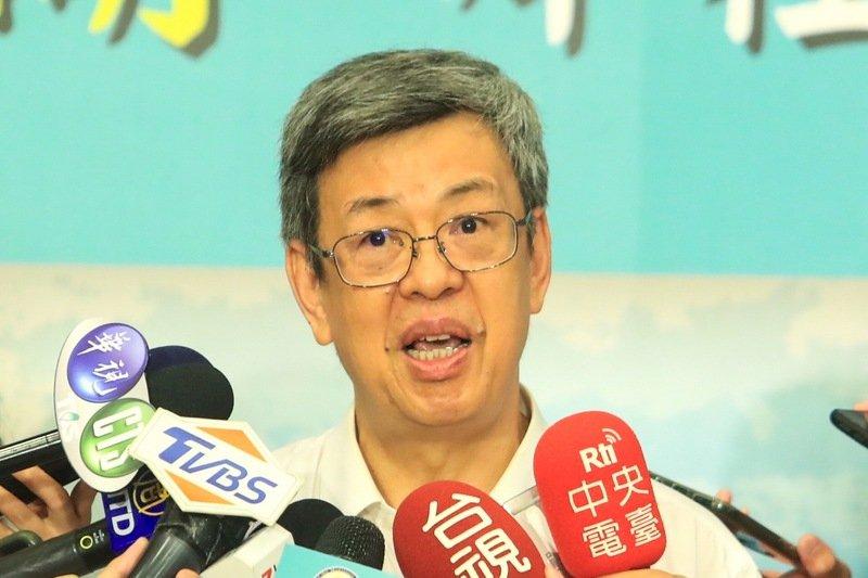 陳建仁比媒專訪 台灣盼6月前展開大規模接種疫苗