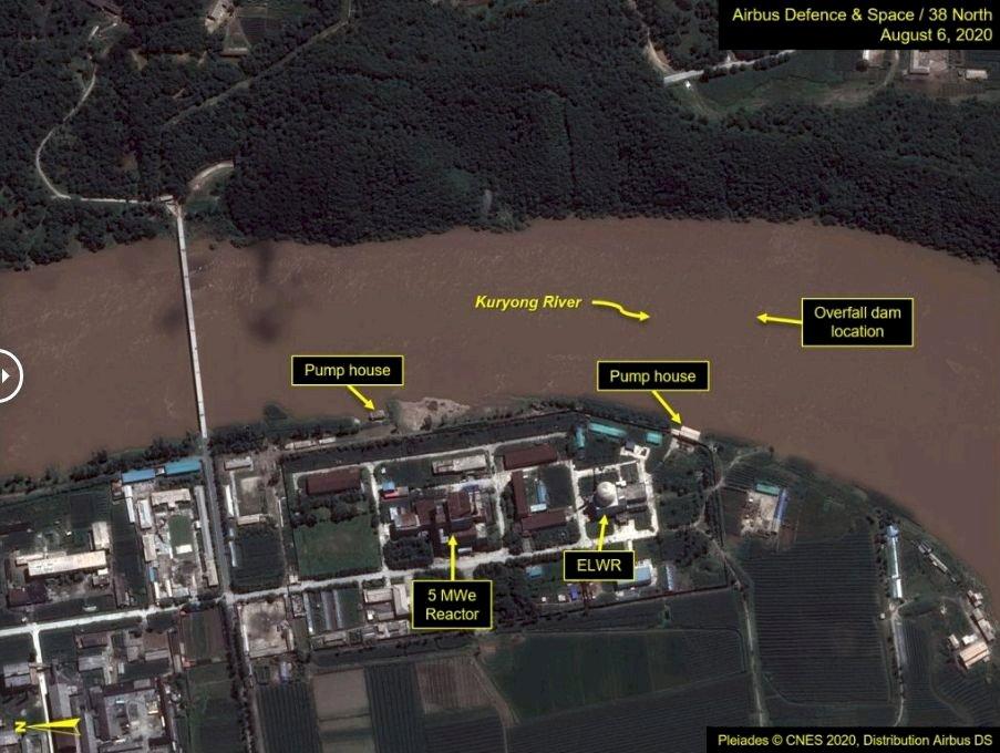 智庫:颱風損北韓核設施水壩 反應爐重啟恐有問題