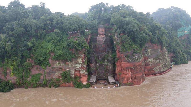 四川出現百年一遇洪水 史上首度啟動一級響應