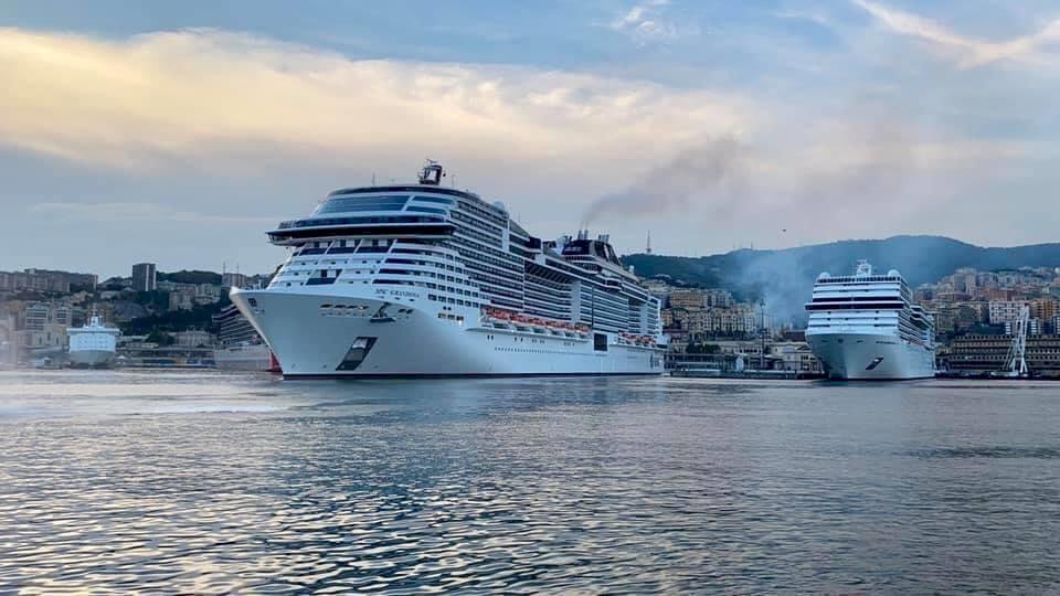 復出江湖 首艘大型地中海郵輪出航