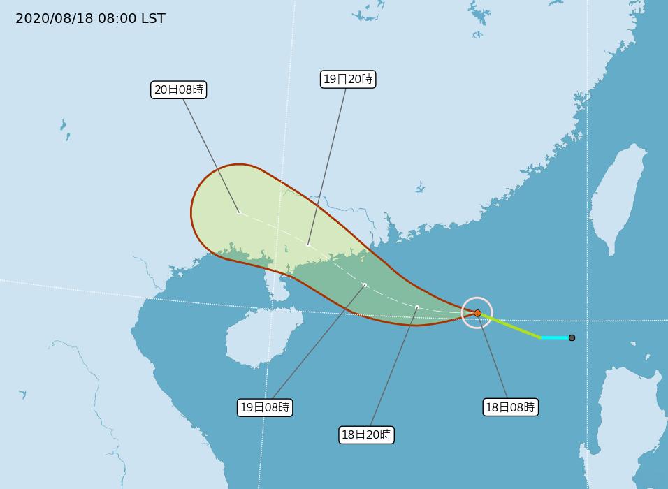 颱風「無花果」生成 對台灣無直接影響