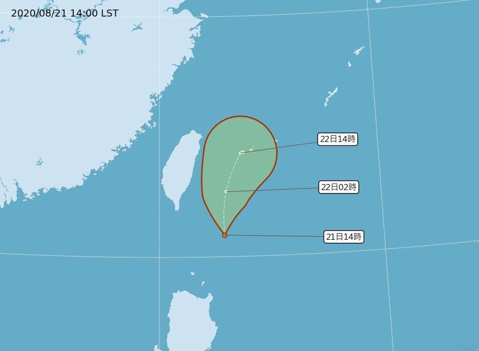 菲律賓熱低壓生成最快22日成颱 發布警報機率低