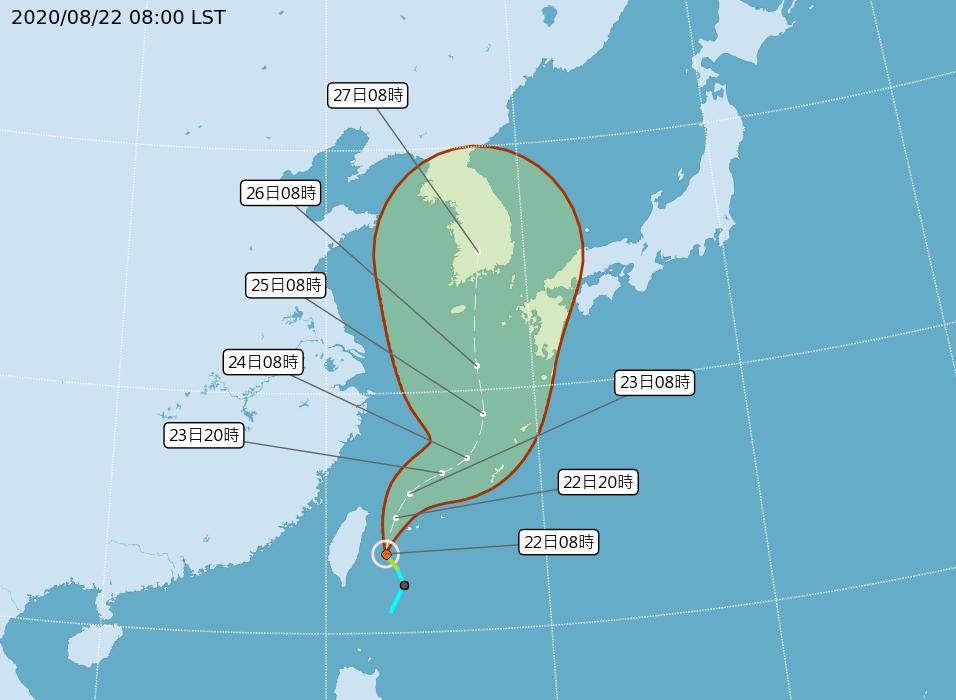 颱風巴威海警10:30發布 發陸警與否須再觀察