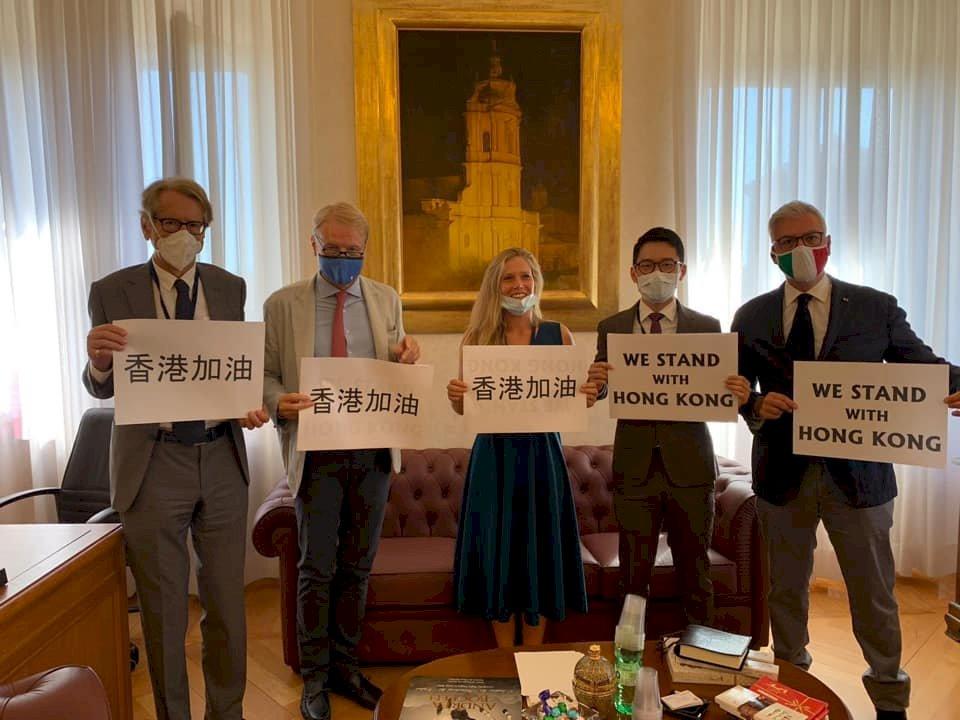 羅冠聰抵義大利警告西方 華為等中國企業構成威脅