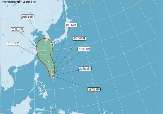 第9號颱風「梅莎」生成 對台無直接影