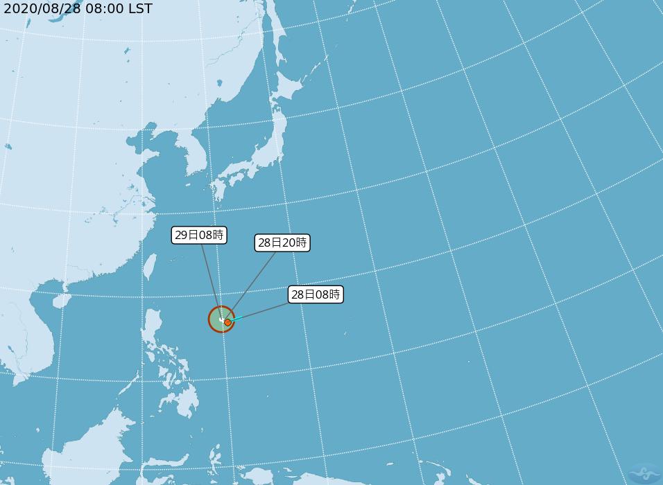 準颱風「梅莎」最快今晚生成 預估下周一、二影響北台灣
