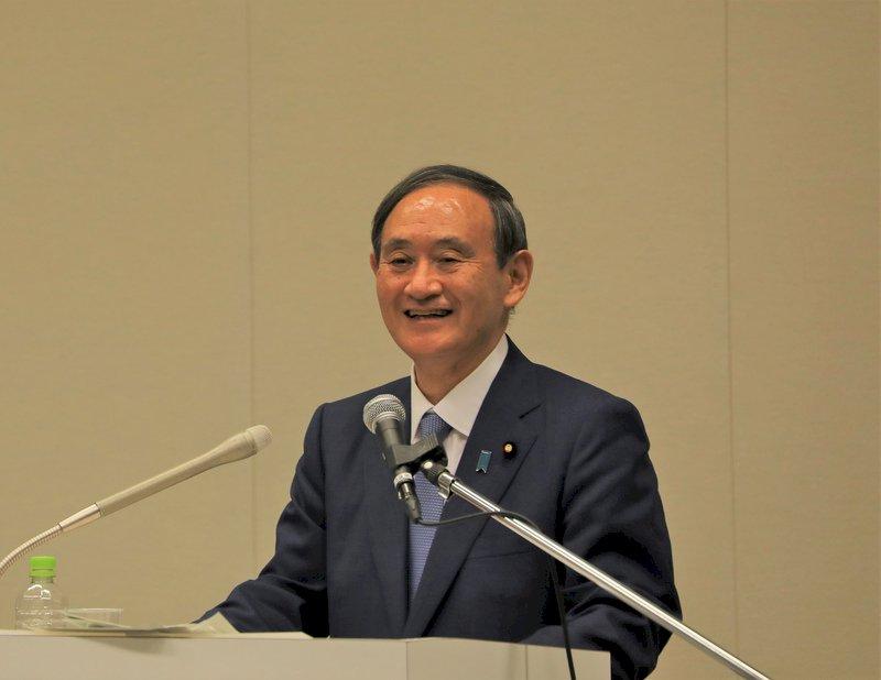日皇任命認證 菅義偉內閣正式上路