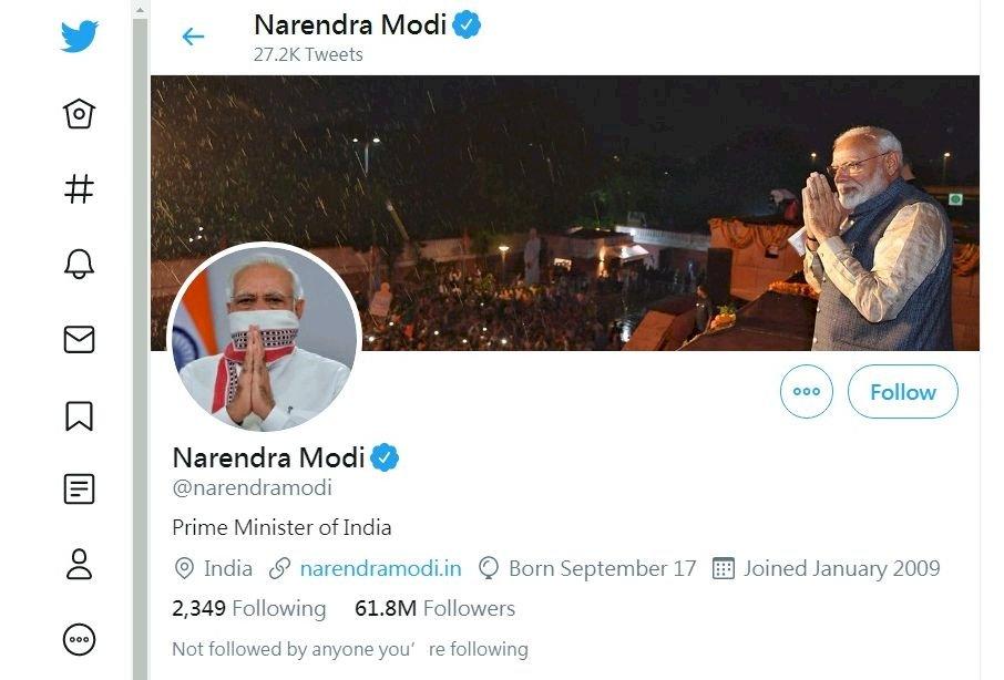 推特又傳駭客攻擊 印度總理莫迪帳號遭殃
