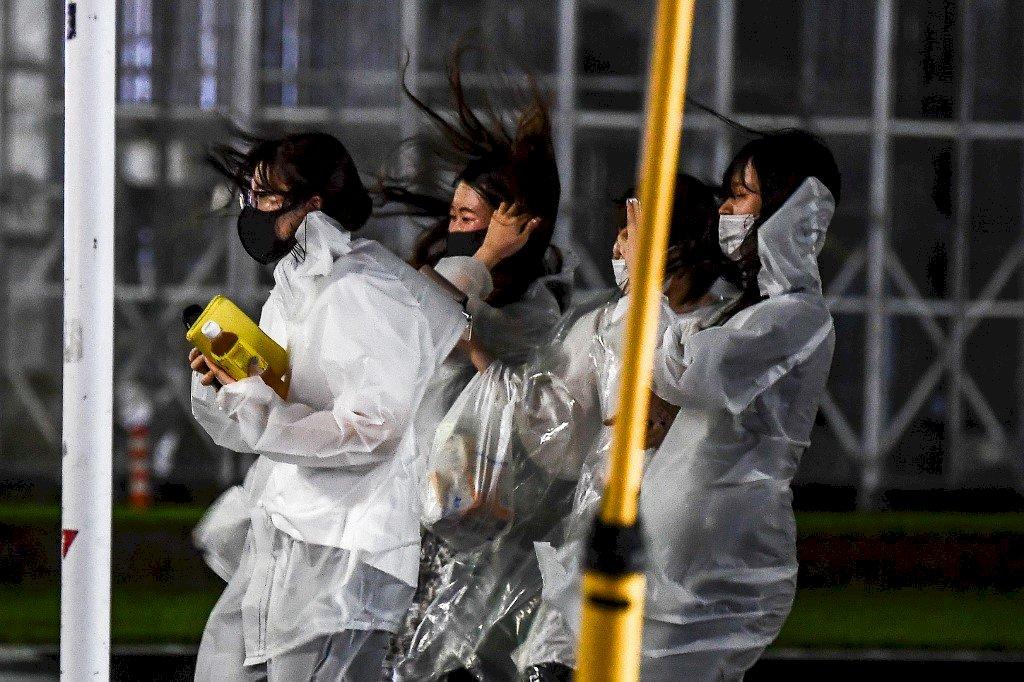強颱海神襲日本九州 當局勸184萬人疏散避難