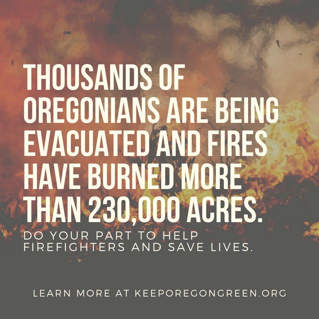 美奧勒岡州野火情勢嚴峻 死亡人數恐破州史紀錄