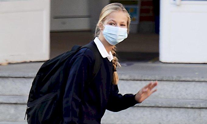 剛開學就有同學染疫 14歲西班牙公主接受隔離