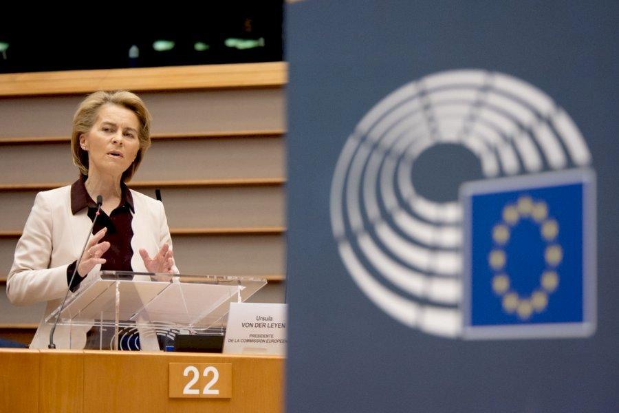 曾跟確診者參加同場會議 歐盟執委會主席自主隔離