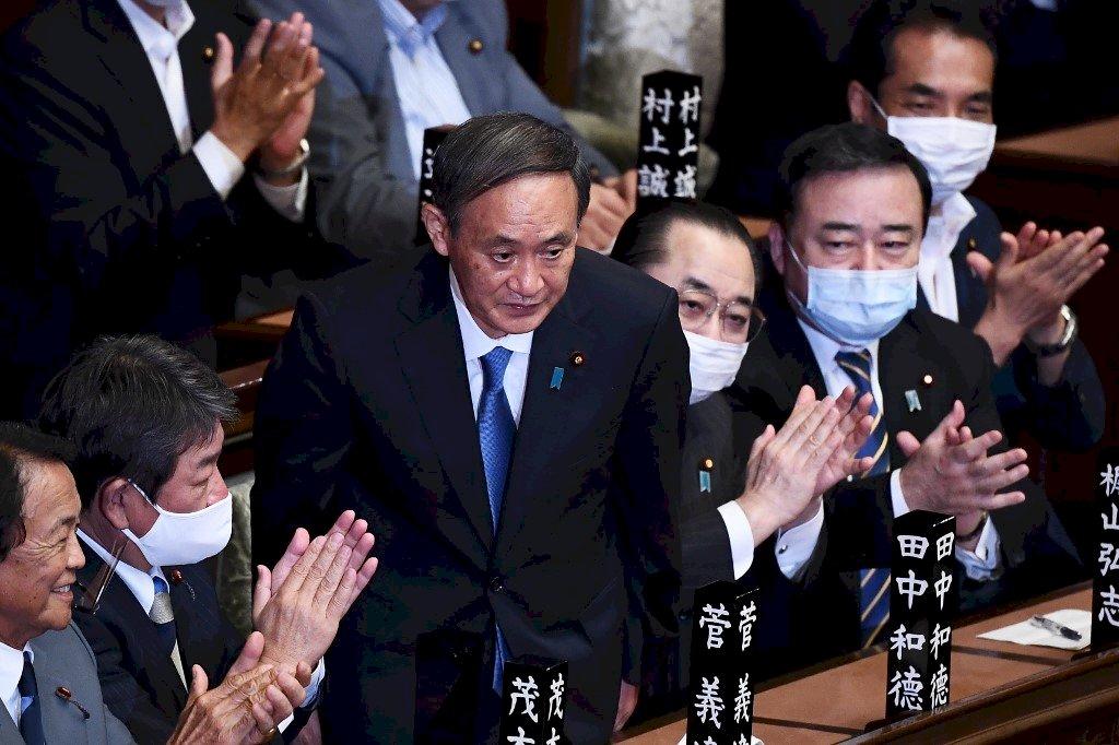 令和大叔菅義偉 獲國會通過任日本第99任首相