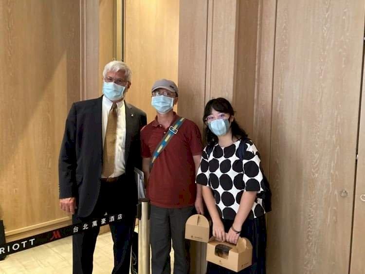 美官員訪台  會晤中國人權受迫害者