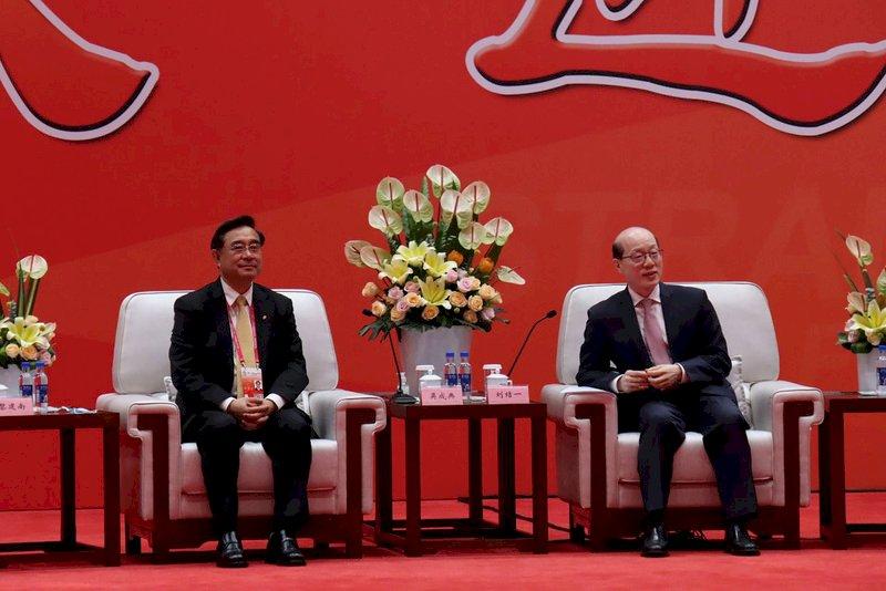 海峽論壇劉結一會見吳成典 中國政協主席首缺席