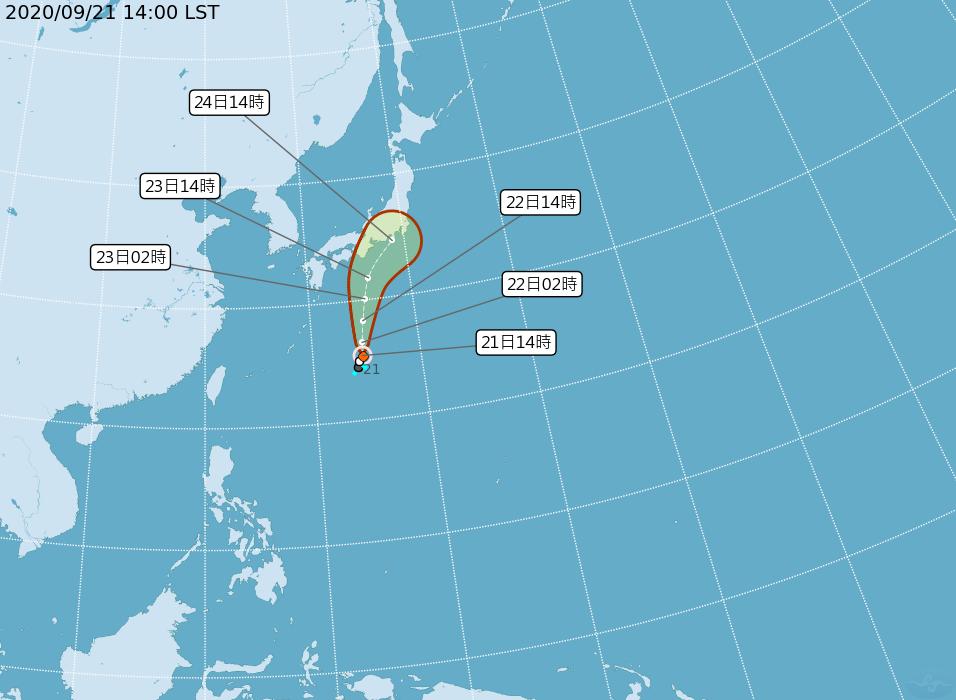 第12號颱風「白海豚」生成 對台無影響
