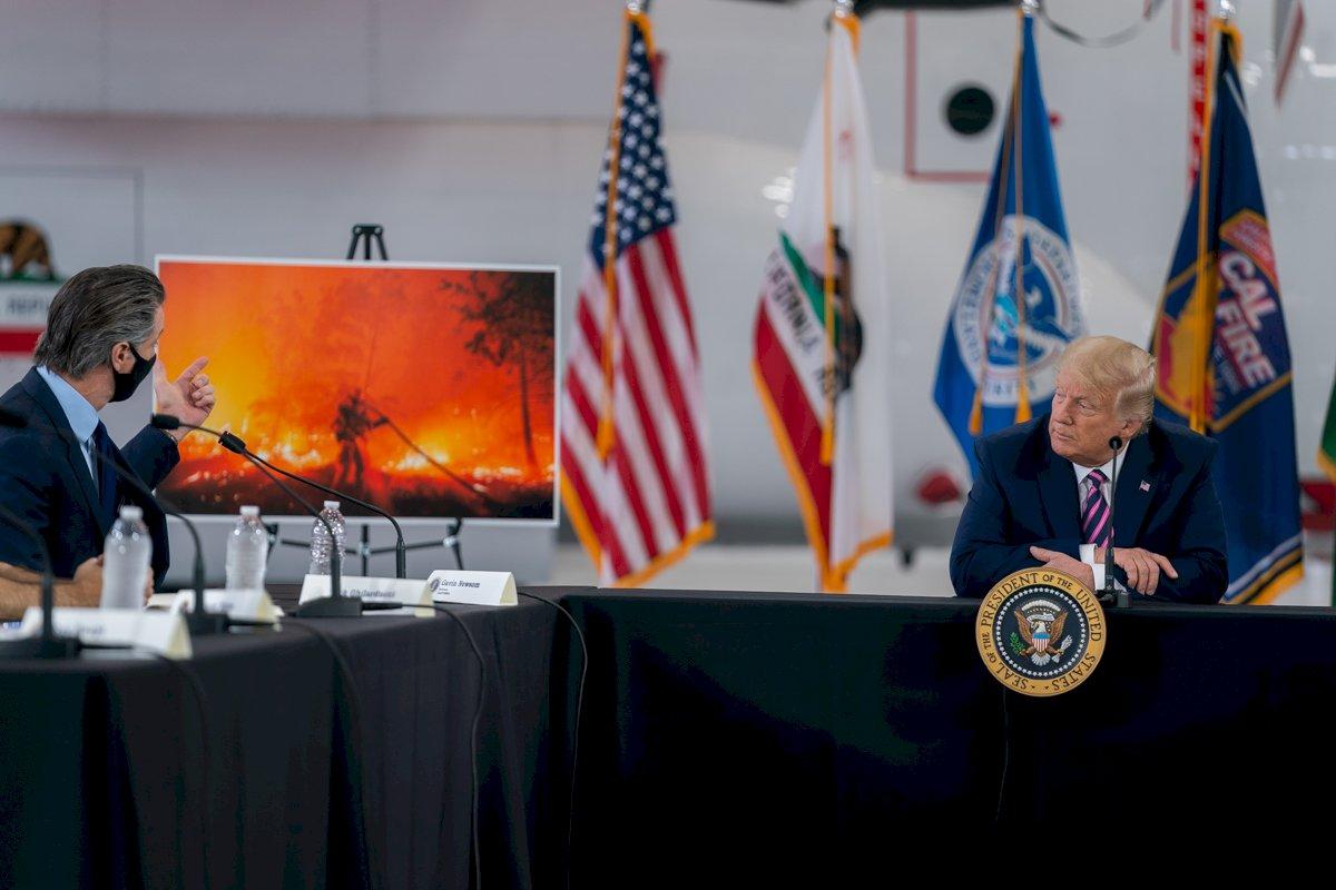野火與水患 氣候變遷成美大選最新戰場