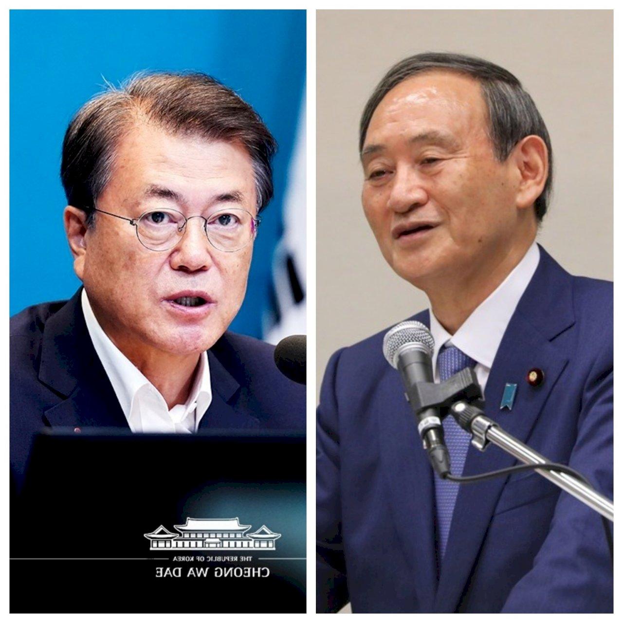 共同對抗北韓 菅義偉希望修復與南韓關係