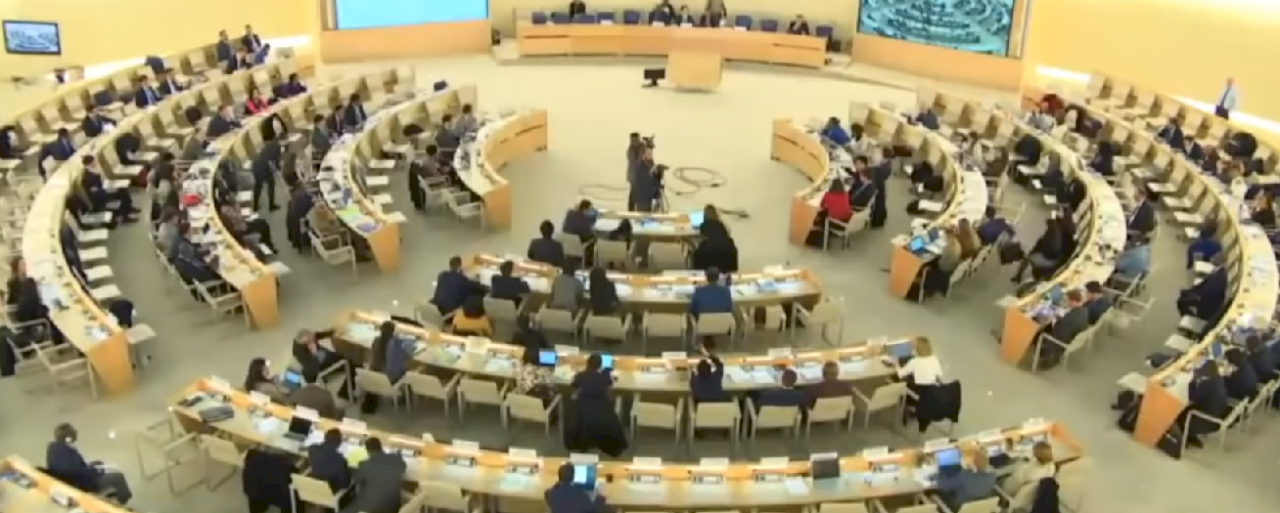 主席警告中國代表! UN人權理事會談新疆 中方大聲拍桌干擾