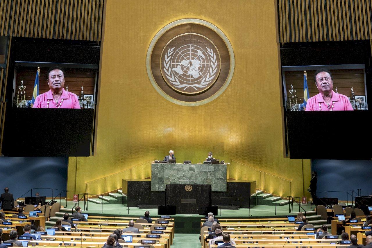聯大總辯論 12友邦發聲挺台參與聯合國