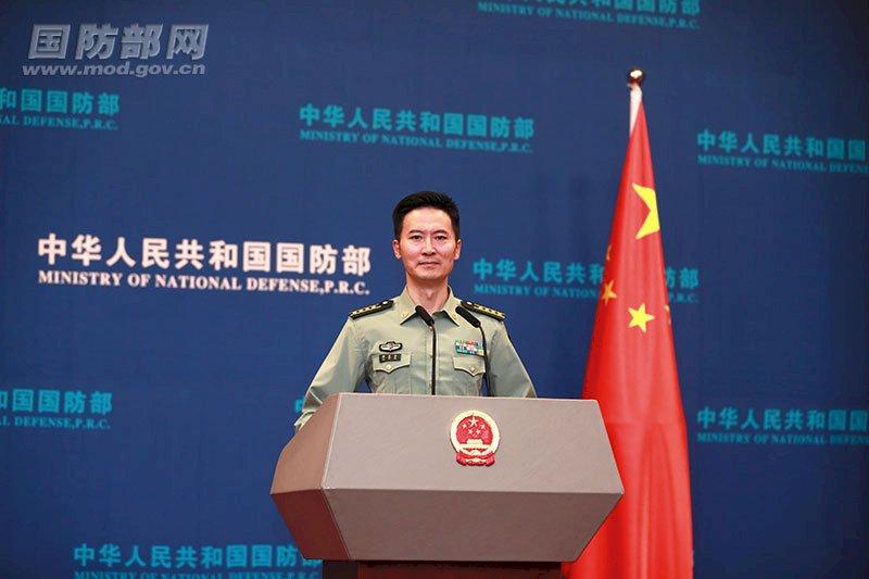 共機擾台 中國國防部稱針對外部勢力和台獨