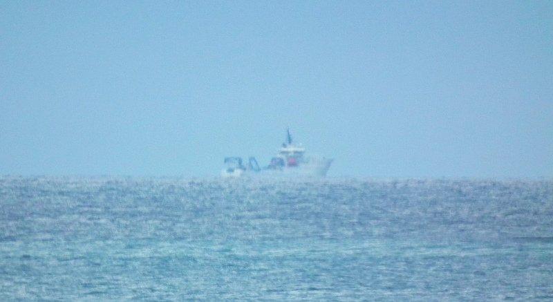 滯留東部外海超過一週 共軍情報船今早離去
