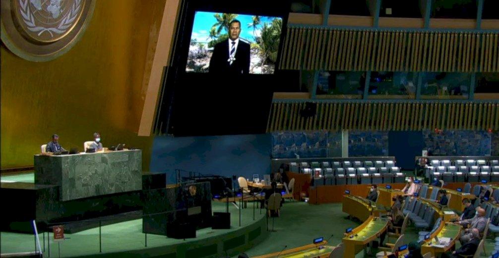 聯大總辯論續有2友邦挺台 吐瓦魯籲重返聯合國