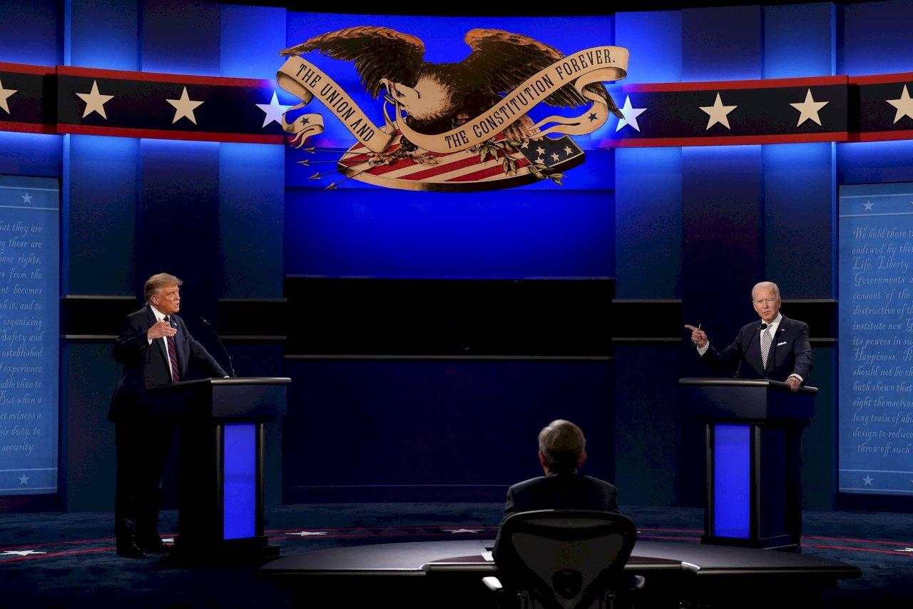 美大選首場辯論會後 賭盤看拜登勝選機率擴大