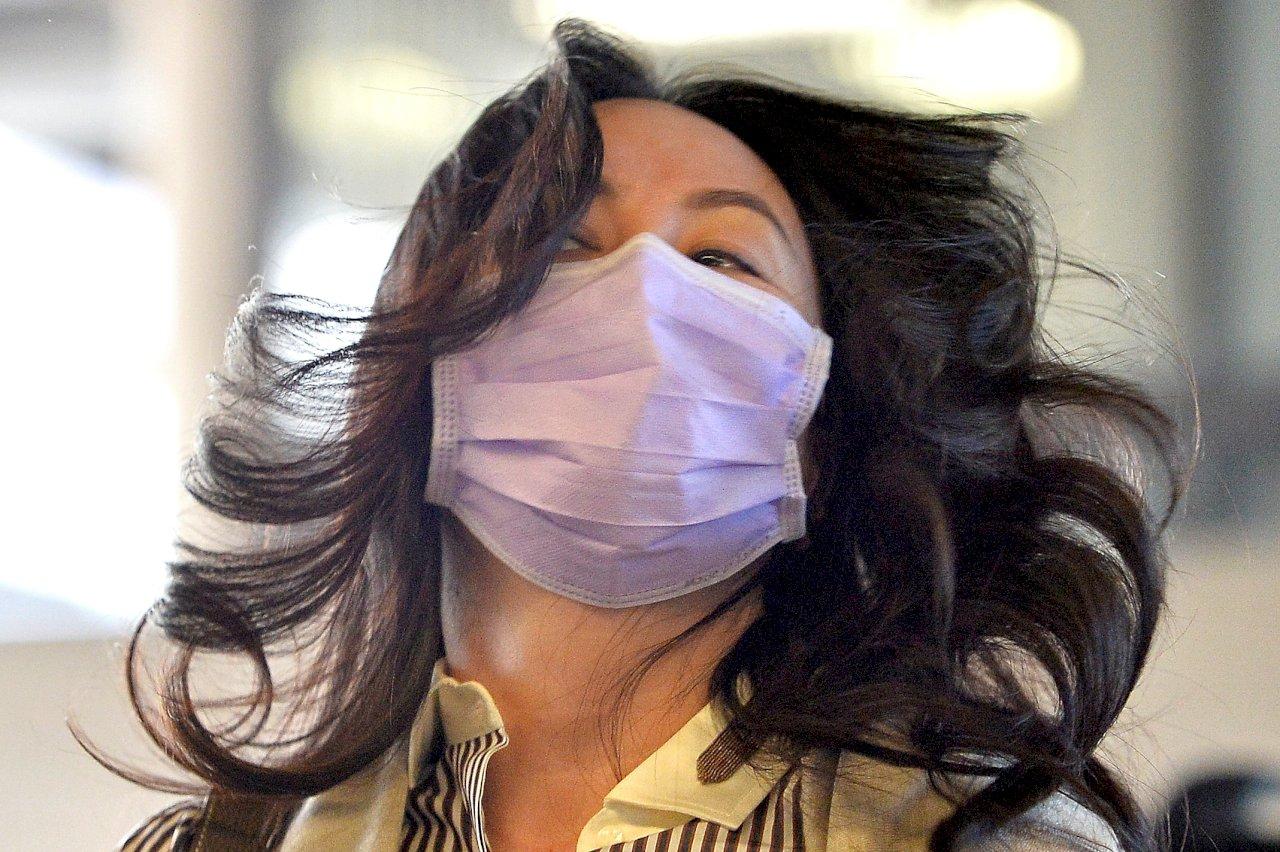 華為公主戴MIT口罩引熱議 加媒:再一次把台灣和中國做區分