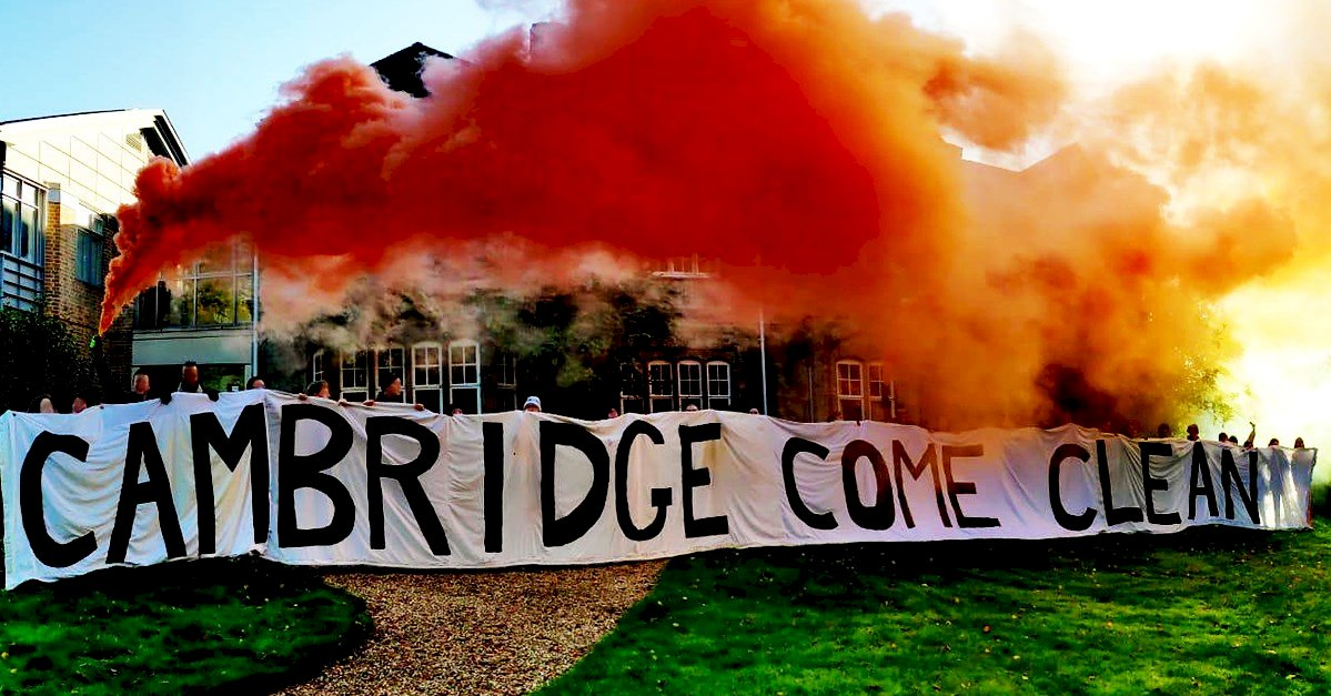 學生施壓成功 劍橋大學承諾2030年前撤資化石燃料產業