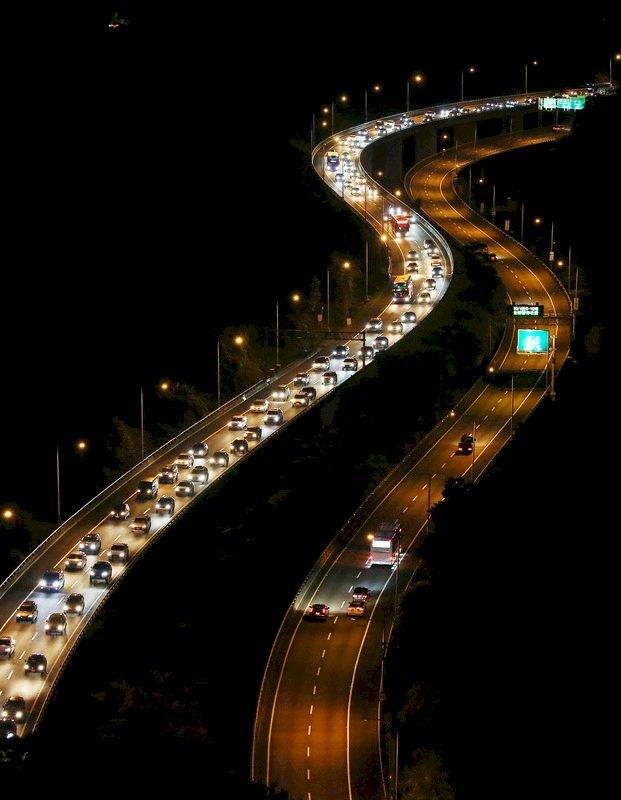 北返車潮紓解 宜蘭雪隧車速最快可達60公里以上