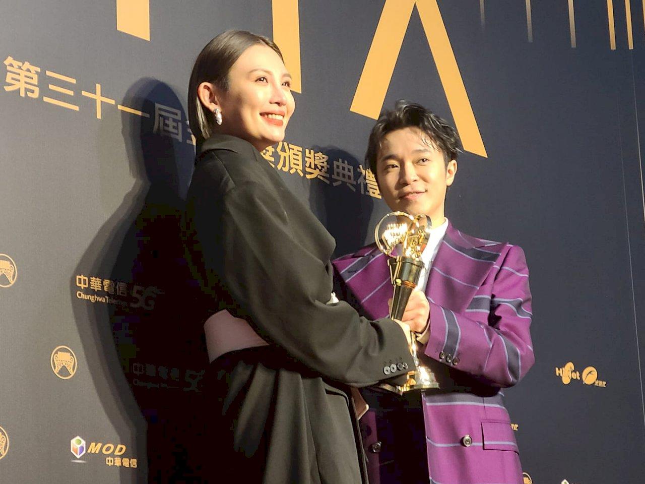 金曲31/吳青峰、魏如萱登歌王歌后  阿爆摘3獎大贏家