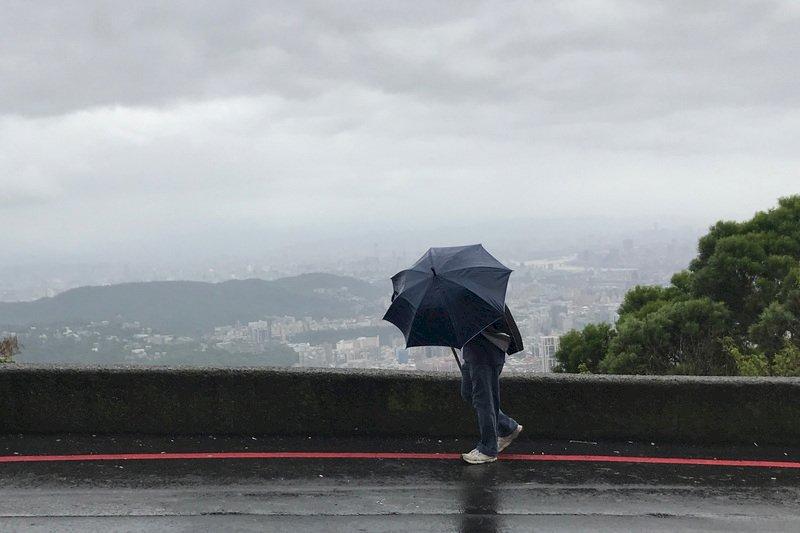 收假日晚起變天 基隆北海岸、大台北山區、東北部防大雨或豪雨