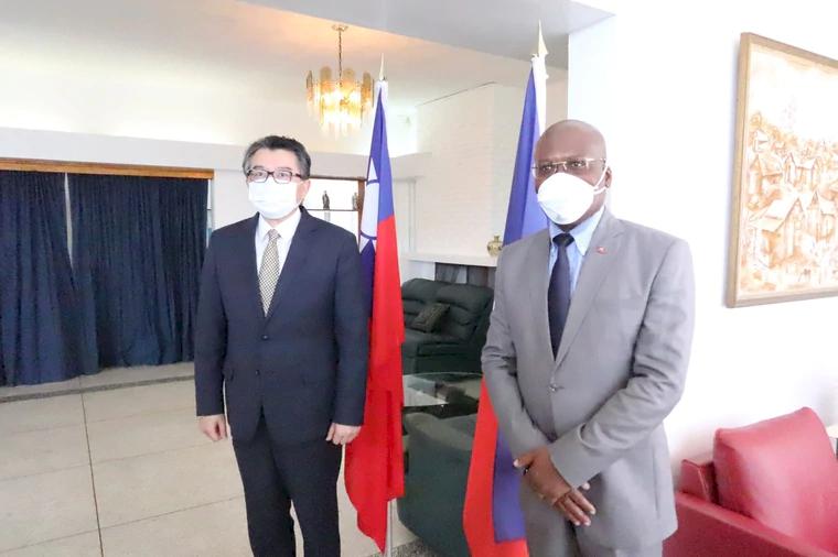 海地公使辛繼志 出任駐普羅旺斯台北辦事處長