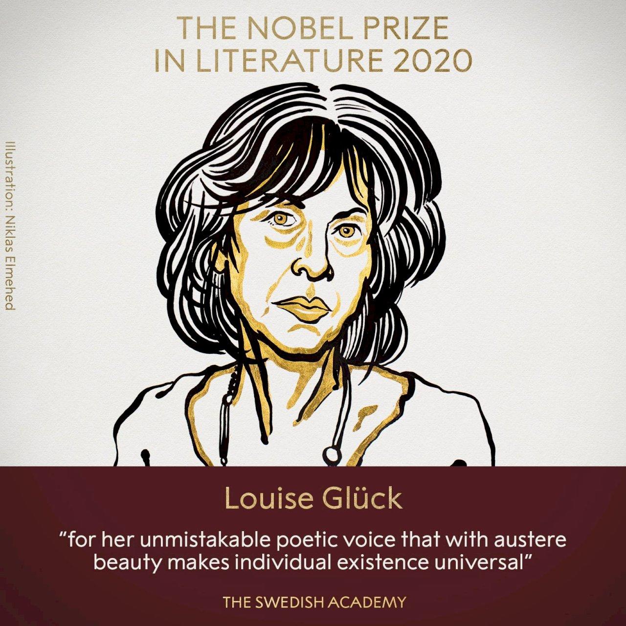 2020年諾貝爾文學獎 美國女詩人葛綠珂摘下桂冠