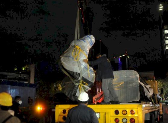 哥倫布到達美洲週年紀念將至 墨西哥移除雕像避爭議