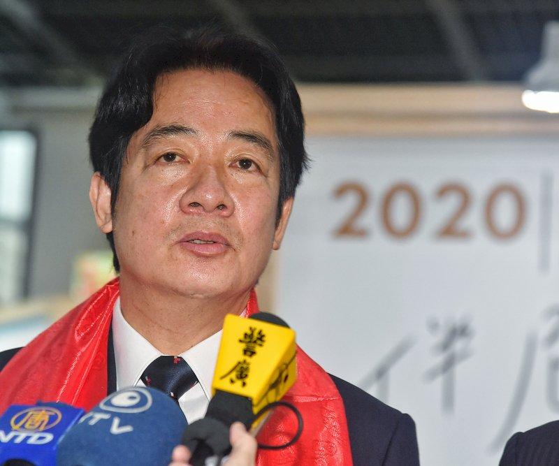 賴副總統喊話挺醫護  籲國人做好防疫守護台灣