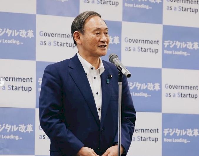 日媒民調:菅義偉支持率60.5% 下滑5.9百分點