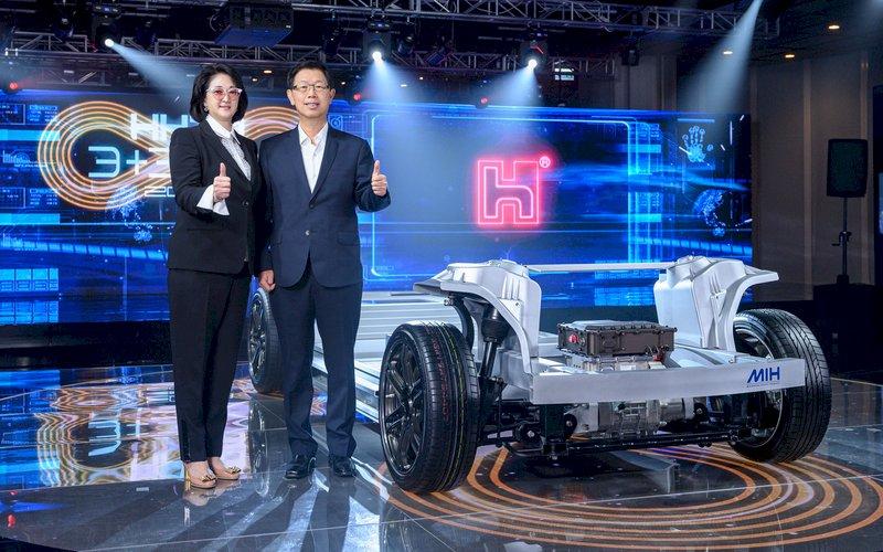 鴻海裕隆合資切入電動車市場  目標市占10%