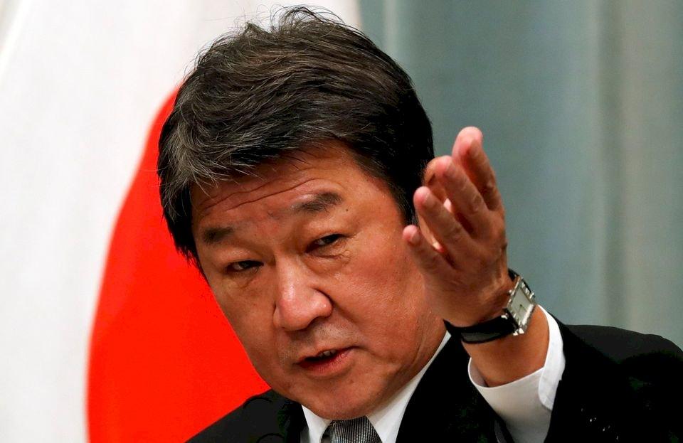 香港新疆釣魚台問題 日本外相向中國表達嚴正關切