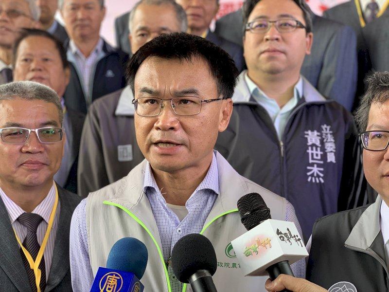 停灌補助每公頃14萬  陳吉仲:保證超過農民收入